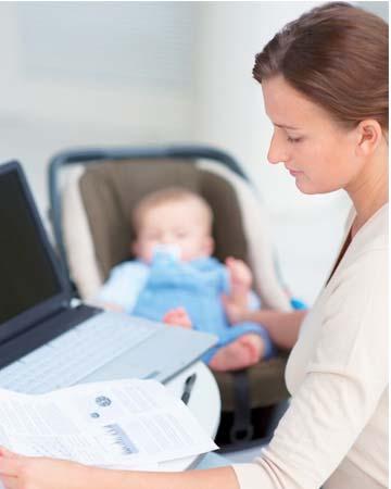 Και Εργαζόμενη Και Μητέρα Ένας Διπλός Ρόλος Κάθε Μέρα