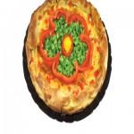 Σπιτική Πίτα με Πιπεριές και Τυρί