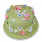 Συνταγή για Τούρτα Γενεθλίων με Λουλούδια