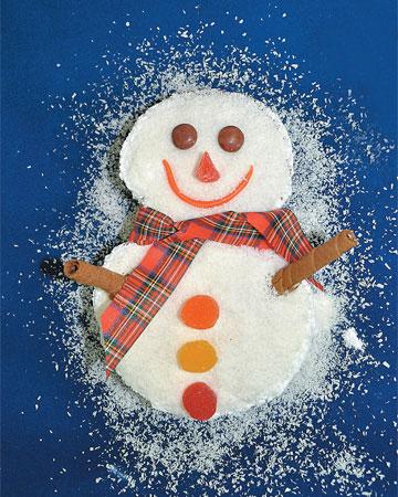 Κέικ Χιονάνθρωπος