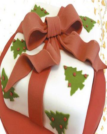 Χριστουγεννιάτικο Πάρτι - Τούρτα Χριστουγεννιάτικο Δώρο