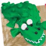 Τούρτα για Παιδικό Πάρτι Κροκόδειλος