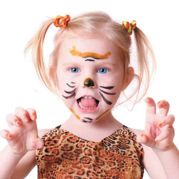 Λεοπάρδαλη Face Painting