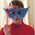 Αποκριάτικη Μάσκα Μαρκησία για κορίτσια