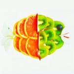 Ψαράκι από Δροσερά Φρούτα Εποχής