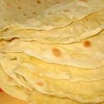 lavash (αρμένικες πίττες)
