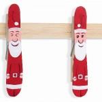 Χριστουγεννιάτικη Κρεμάστρα από Μανταλάκια