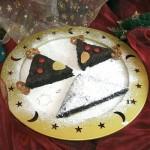 Χριστουγεννιάτικο Κέικ Σοκολάτας Τάρανδοι