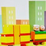 Κατασκευή Τρενάκι από Κουτιά