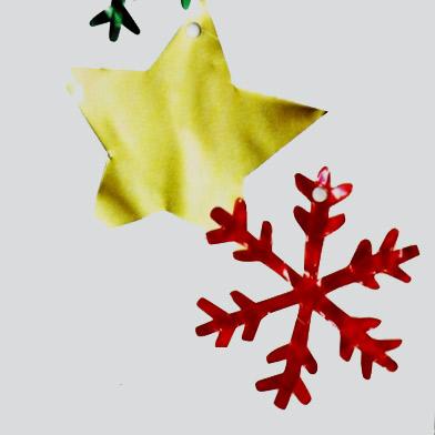 Χριστουγεννιάτικα Αστέρια και Νιφάδες για το Δέντρο