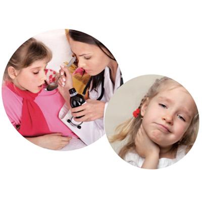 Συμπτώματα Αμυγδαλίτιδας στα Παιδιά