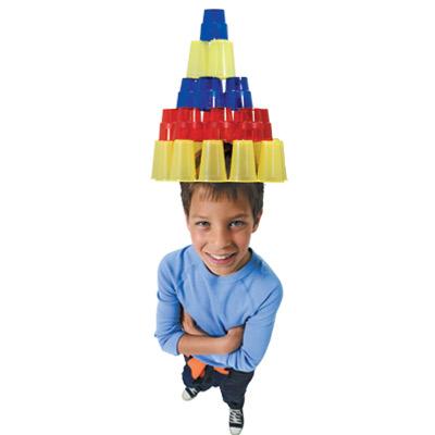 Καπέλο για τις Απόκριες από Ποτήρια