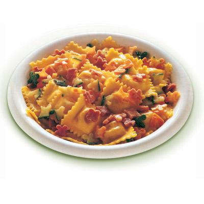 Συνταγή Ραβιόλια με Σάλτσα Λαχανικών