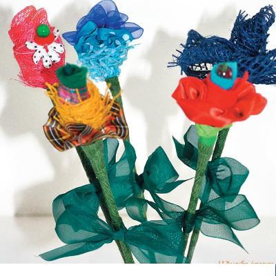 Κατασκευή Μπουκέτο Λουλούδια