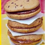 Μπισκότα βανίλιας με κομματάκια σοκολάτας