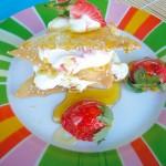 Κριτσίνια με φρούτα & γιαούρτι