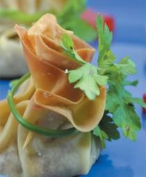 Συνταγή Πουγκάκια με Κιμά
