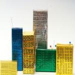 Ουρανοξύστες από Σπιρτόκουτα για Διακόσμηση