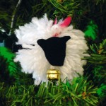 Χριστουγεννιάτικη Κατασκευή Στολίδι Προβατάκι