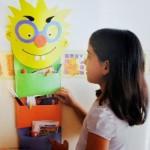Κατασκευή Κρεμαστή Θήκη για Παιδικό Δωμάτιο