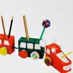 Μολυβοθήκη Τρενάκι για το Παιδικό Γραφείο