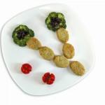 Συνταγή με Λαχανικά για Παιδιά σε Σχήμα Λουλούδι