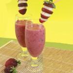 Ροζ Κοκτέιλ Μπανάνα- Φράουλα
