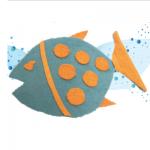 Πατάκι για το Μπάνιο σε σχήμα Ψάρι